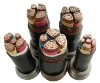 0.6KV copper conductor PVC insulated power cable