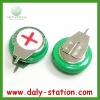 1.2V 80mAh Ni-MH Button Cell Battery