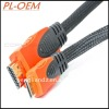 1.4 Version A-C type 19pin Gold HDMI Cable 1080p