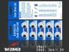 1.55V SR621 oxide silve battery