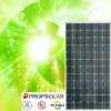 100% TUV Standard high efficiency mono pv solar panel 255w