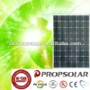 100% TUV mono 215w photovoltaic panel