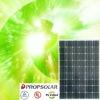 100% TUV standard flash test best price mono solar panel 190w