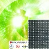 100% TUV standard flash test high efficiency 245w mono solar panel