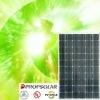 100% TUV standard flash test high efficiency mono photovoltaic panel 215w