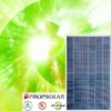 100% TUV standard flash test high efficiency poly pv solar panel