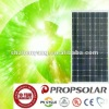 100% TUV standard flash test mono 165w solar energy product