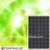 100% TUV standard flash test mono solar pv module 215w