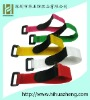 100%nylon velcro cable tie with buckle