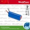 1000mAh medical instrument lithium battery pack 11.1V