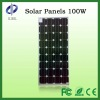 100W monocrystalline Solar panels for home use