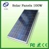 100W polycrystalline Solar panels