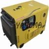 102KW LOVOL Engine soundproof silent type power diesel generator
