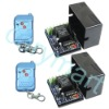 10A 2 CH DC12V Door Alarm Motor Light Wireless Remote Control Switch,Radio Controller,Transmitter & Receiver - 3 Control modes
