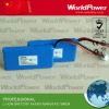11.1V 2000mah li-ion battery for medical instruments