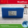 11.1V 2400mah medical instrument battery