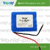 11.1V 4400mAh li ion rechargeable battery for flashlight