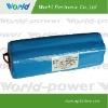 11.1V 8000mAh lithium-ion batterie 3S4P
