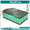11.1v 40.8Ah 18650 li-ion battery with high power