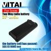 1100mah BP-208N Ni-CD  7.2V  Two Way Radio Battery Case
