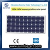 120W mono solar panel for LED street light