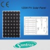 125W Solar Cell Panel