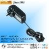 12V 2A 24V 1A saa adapter plug