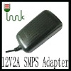 12V 2A  US wall type power adapter