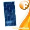 12V electricity mono PV solar 130W