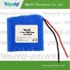 14.8V 2200mAh li-ion 18650 battery pack for flashlight,tactical