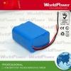 14.8V 2400mAh portable light series lithium battery