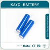 14500 cylindrical Li ion Battery with 750mAh 3.7V