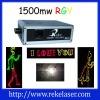 1500mw RGYanimation laser light