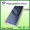 150W Polycrystalline Silicon Solar panels