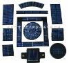 156 solar silicon cells