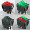 16a rocker switch 250v with light