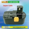 18 V Li-ion Battery for power tool made with Japanese & Chinese Cell