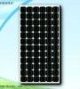 180W PV solar mono black pv module
