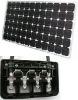 185watt mono-cystal silicone with pv box solar panel