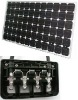185watt mono-cystal silicone with pv box solar panel