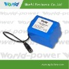 18650 11.1v 6600mah medical rechargeable battery packs