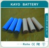 18650-1S1P lithium battery pack 2000mAh