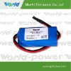 18650 Li-ion rechargeable battery packs 3.7V 4400mah