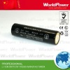 18650 flashlight lithium battery 3.7V