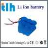 18650 lithium battery 3.7v 6000mah with circuit protection