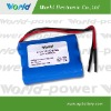 18650 lithium rechargeable battery pack 3.7v 6600mAh