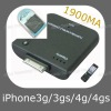 1900mA Battery Case for iPhone 3G/3GS/4G/4GS (ASC-036)