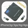 1900mA External Battery for iPhone 3G/3GS/4G/4GS (ASC-036)