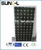 190W solar panel monocrystalline solar energy low price