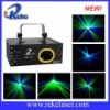 190mw green and purple laser light show system